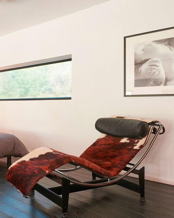 chaise Le corbusier de la chambre d'hôtes du loft