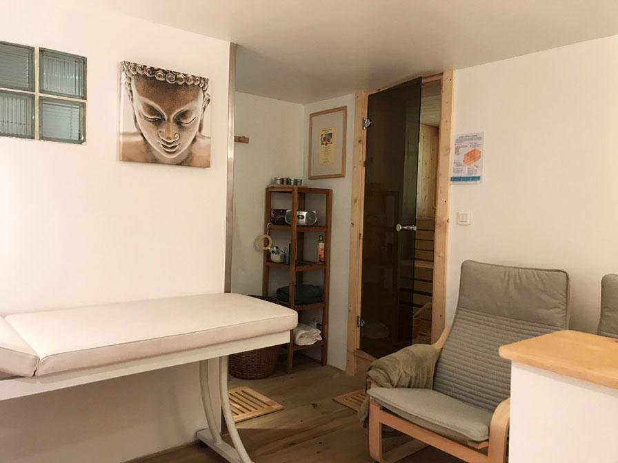 Espace de bien-être des chambres d'hôtes